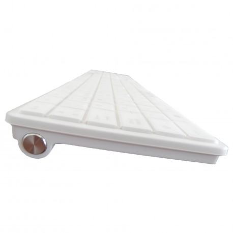 Teclado Biwond K10 Ultra-Slim Blanco